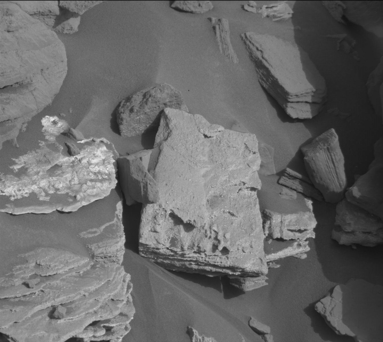 Nasa's Mars rover Curiosity acquired this image using its Mast Camera (Mastcam) on Sol 1065