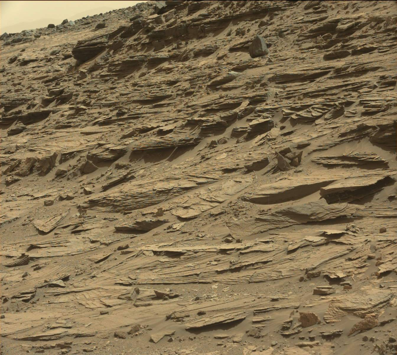 Rocket Cone on Mars and other anomalies: Retro Sol 1067 ...