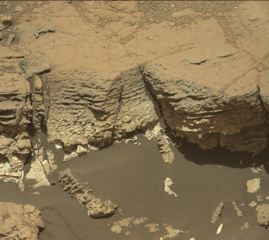 NASA's Mars rover Curiosity acquired this image using its Mast Camera (Mastcam) on Sol 1071