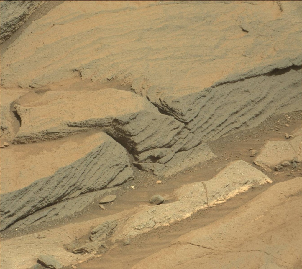 NASA's Mars rover Curiosity acquired this image using its Mast Camera (Mastcam) on Sol 1085