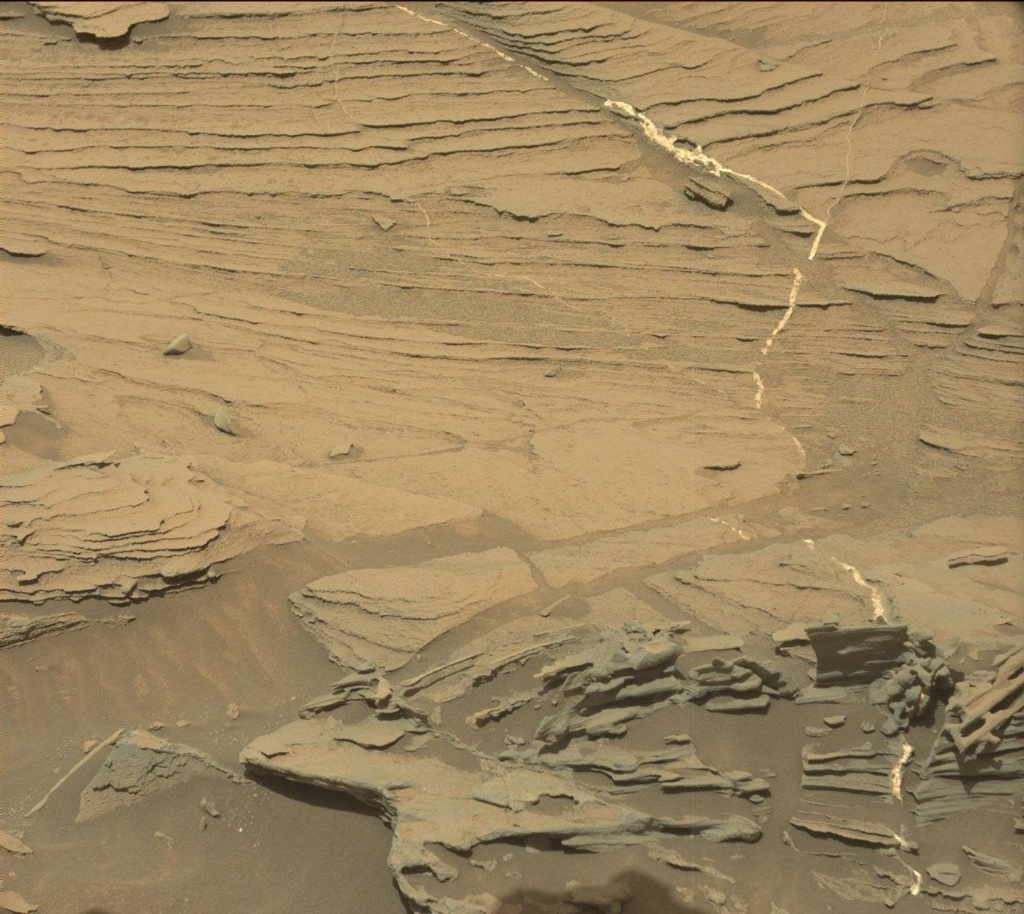 NASA's Mars rover Curiosity acquired this image using its Mast Camera (Mastcam) on Sol 1089