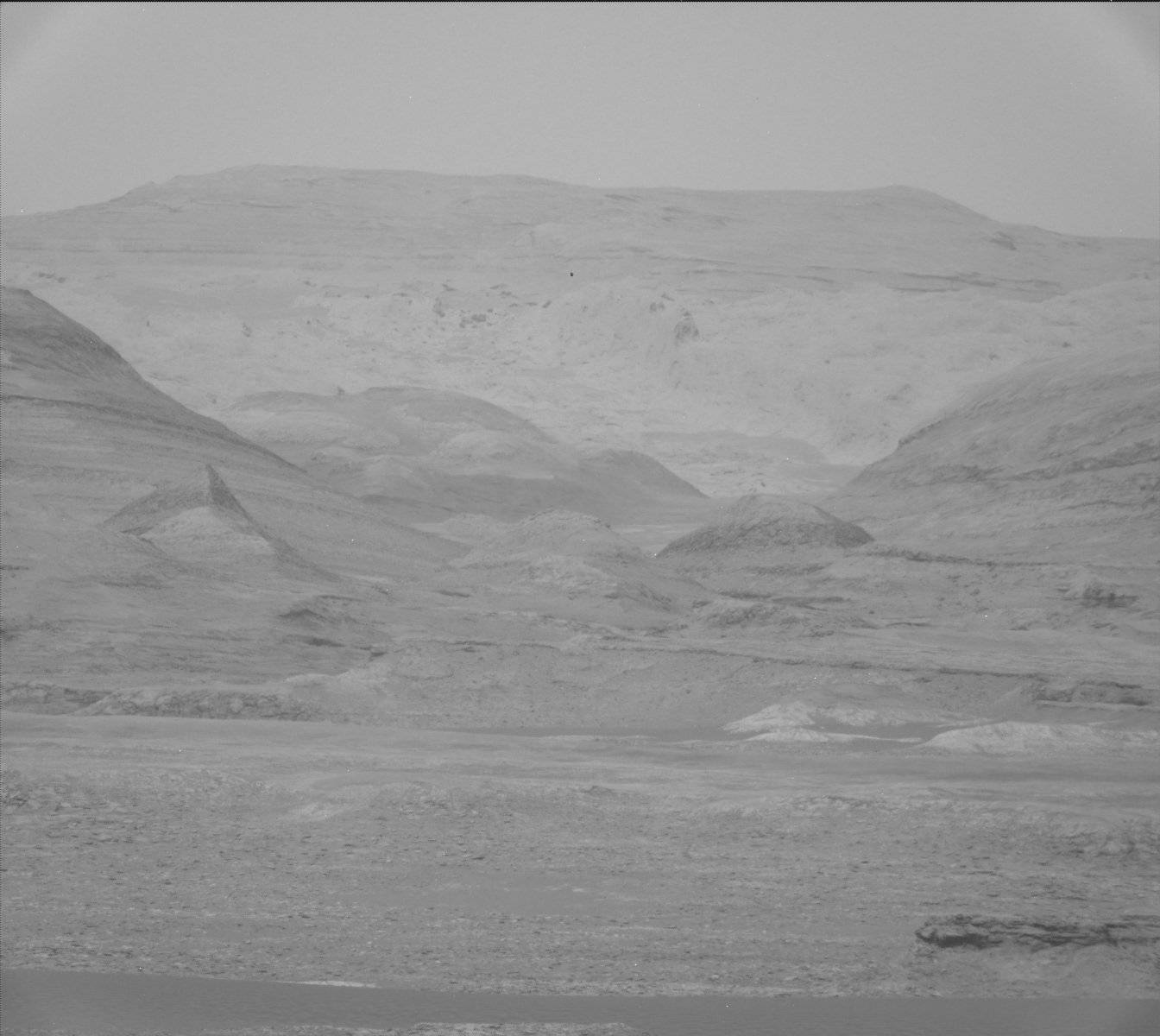 Nasa's Mars rover Curiosity acquired this image using its Mast Camera (Mastcam) on Sol 1104