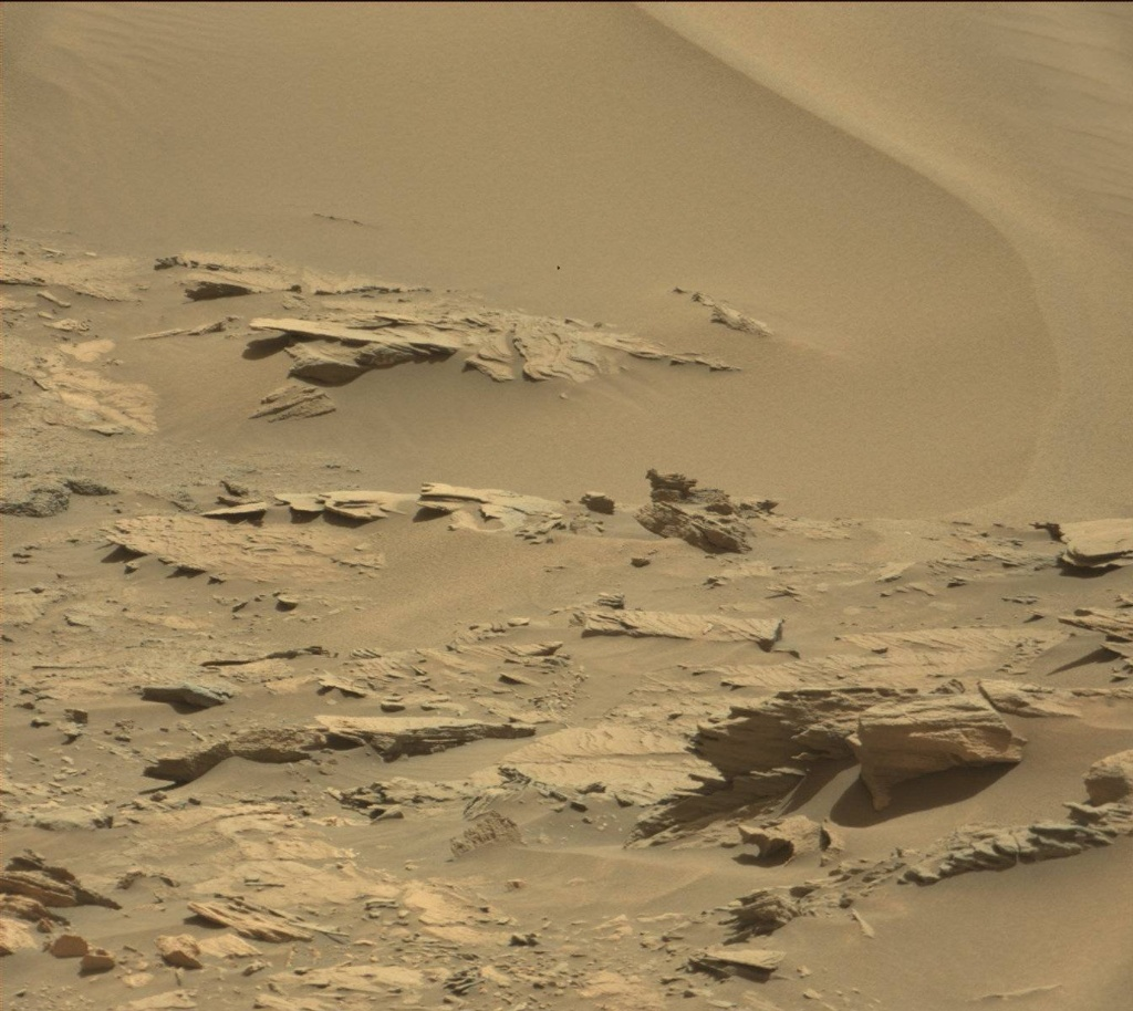 NASA's Mars rover Curiosity acquired this image using its Mast Camera (Mastcam) on Sol 1110