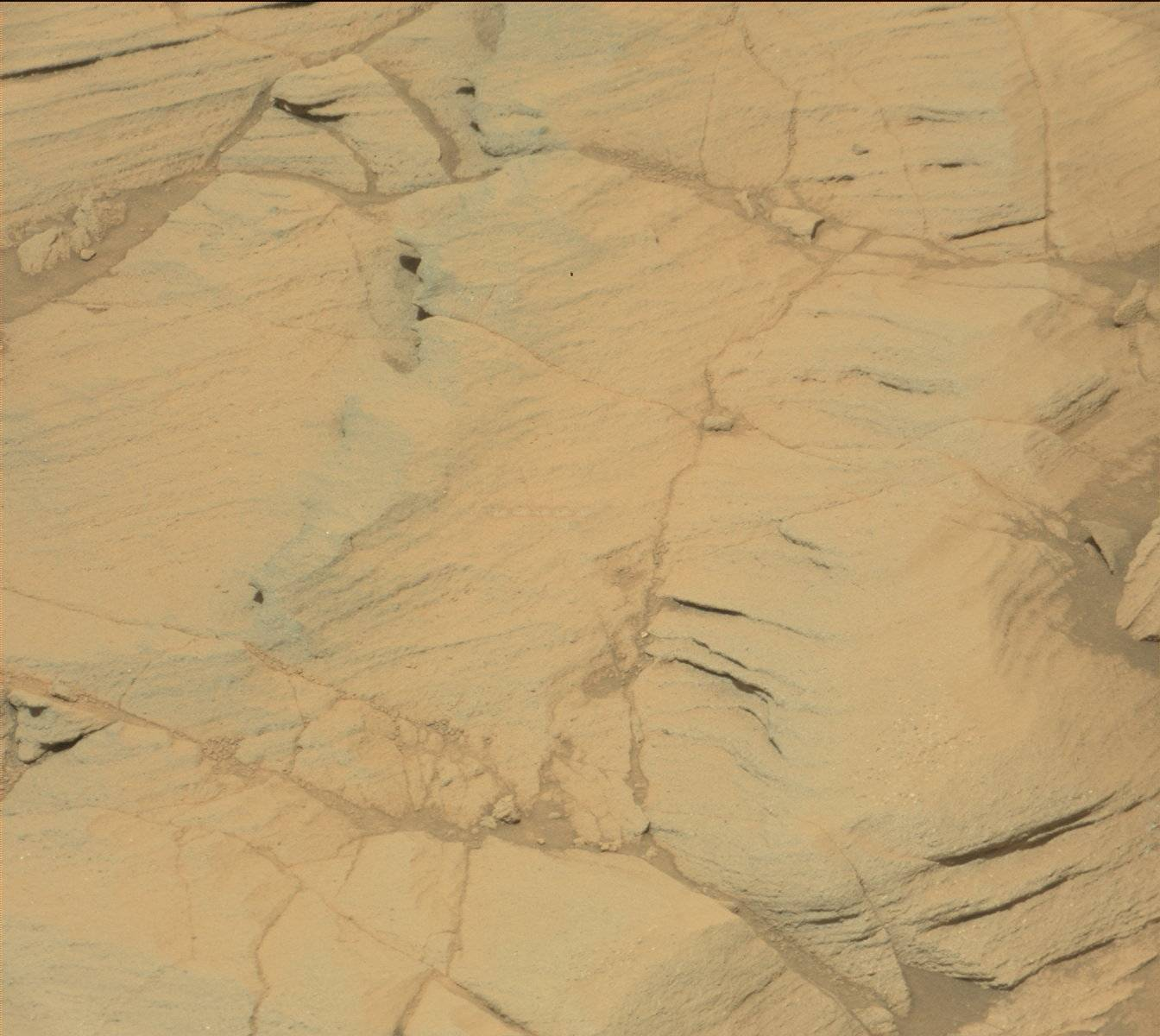Nasa's Mars rover Curiosity acquired this image using its Mast Camera (Mastcam) on Sol 1118