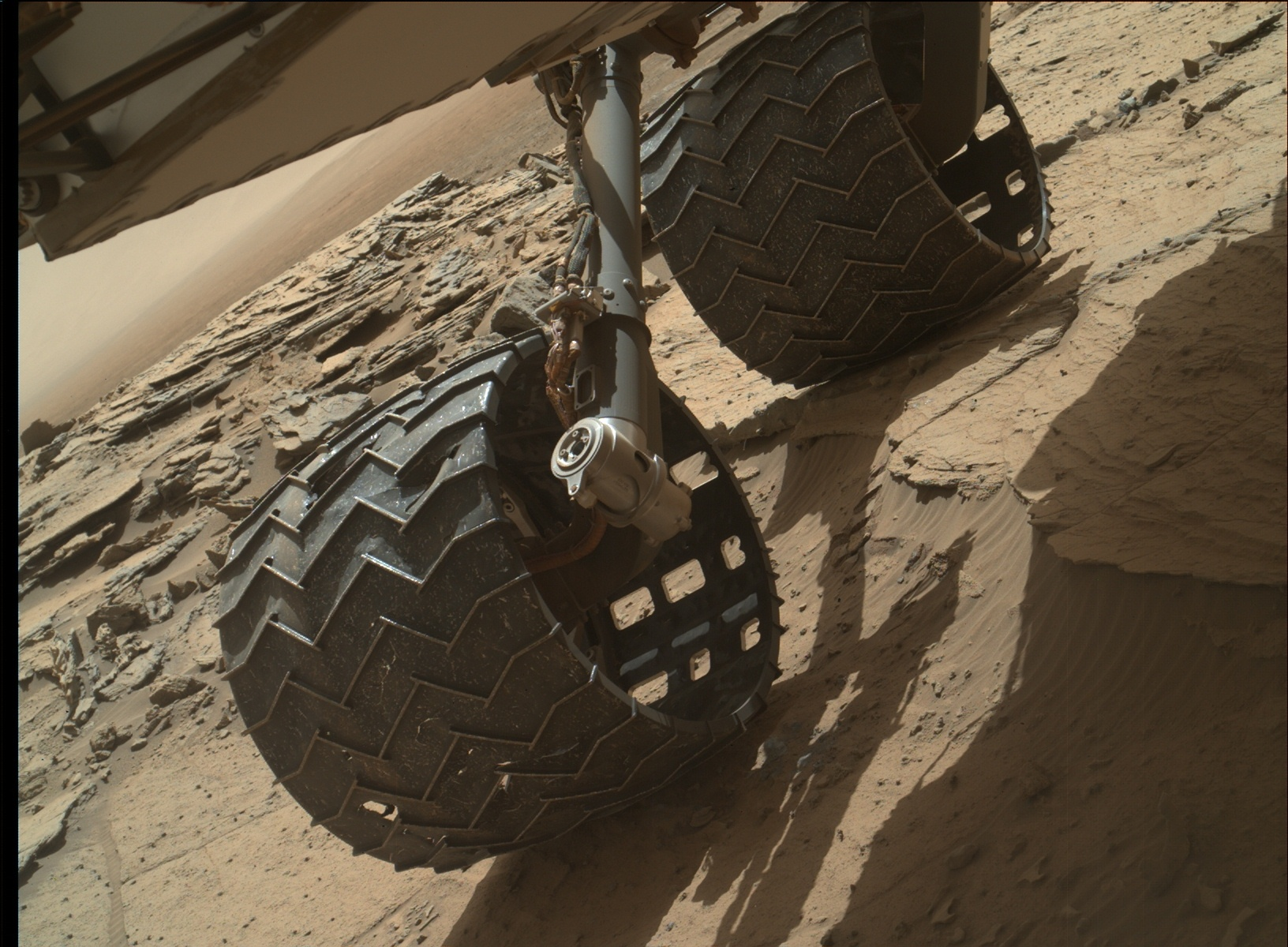 Nasa's Mars rover Curiosity acquired this image using its Mars Hand Lens Imager (MAHLI) on Sol 1127