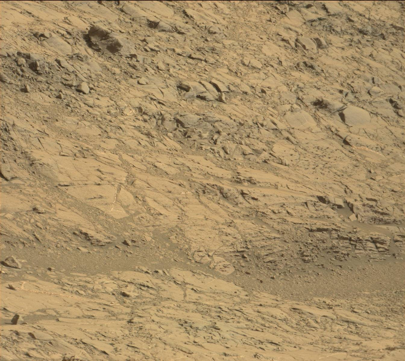 Nasa's Mars rover Curiosity acquired this image using its Mast Camera (Mastcam) on Sol 1160