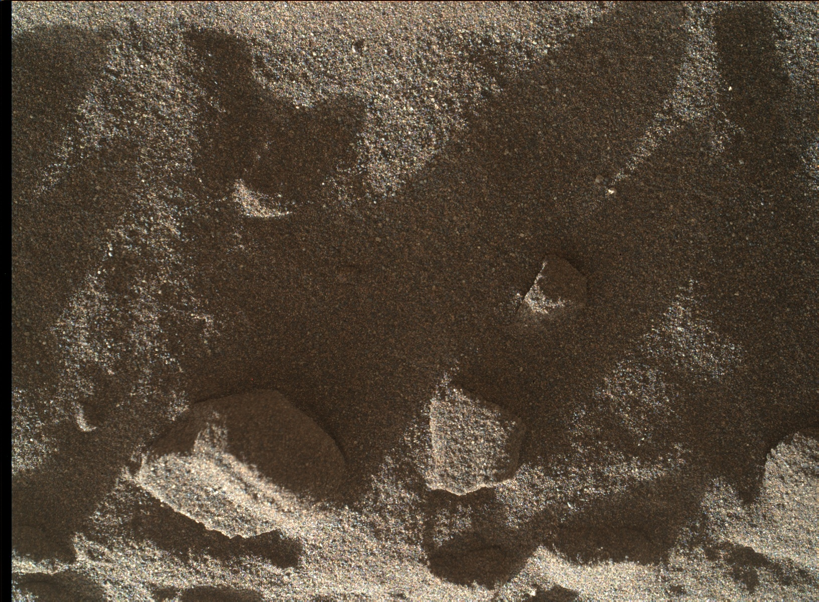 Nasa's Mars rover Curiosity acquired this image using its Mars Hand Lens Imager (MAHLI) on Sol 1182