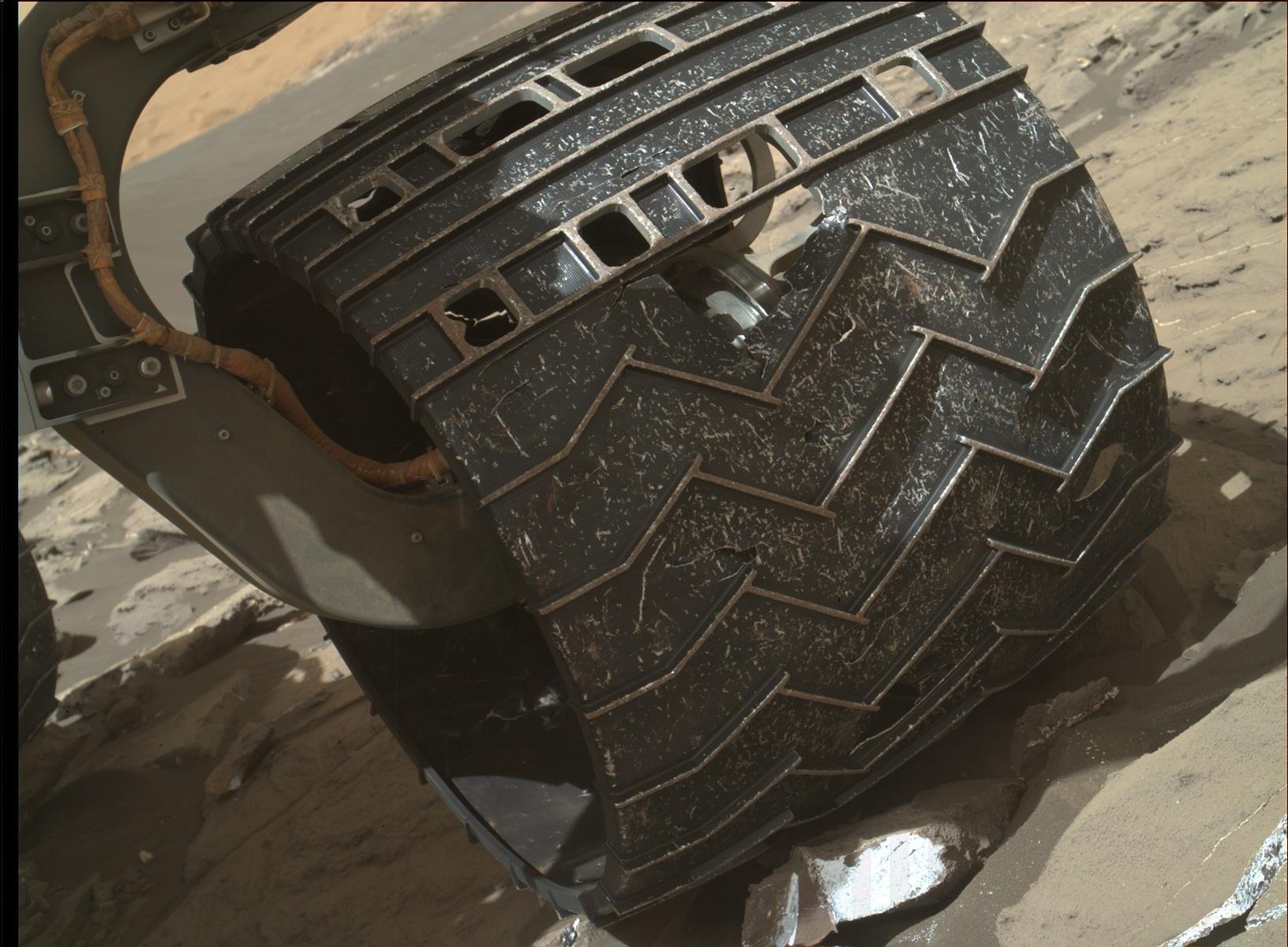 mars from mars rover wheels - photo #20
