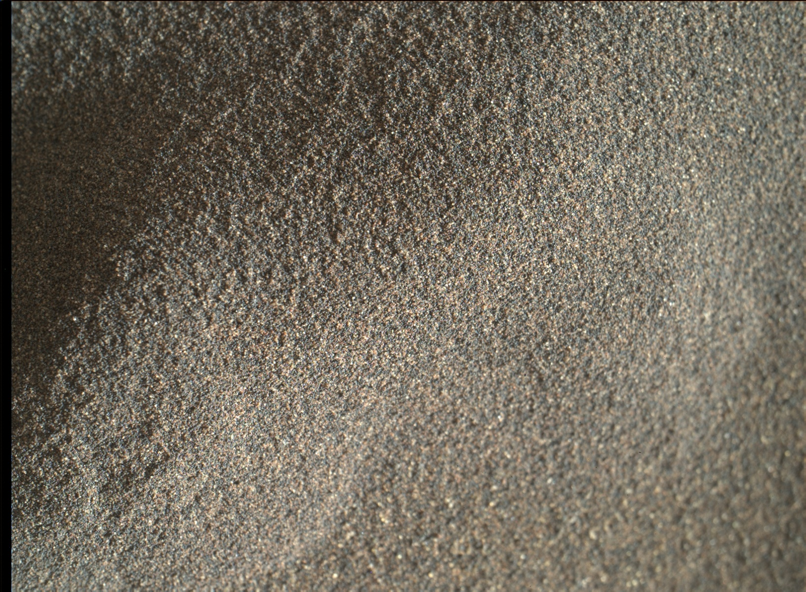 Nasa's Mars rover Curiosity acquired this image using its Mars Hand Lens Imager (MAHLI) on Sol 1226