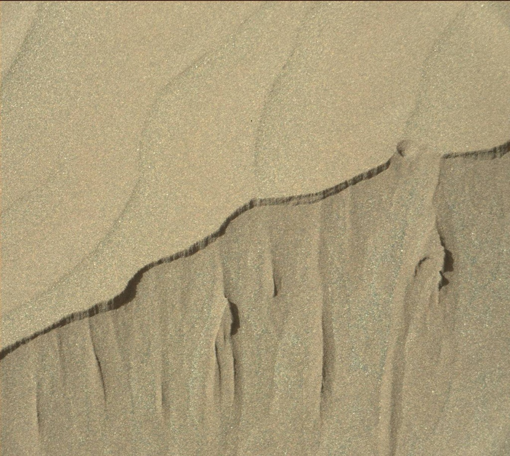 NASA's Mars rover Curiosity acquired this image using its Mast Camera (Mastcam) on Sol 1239