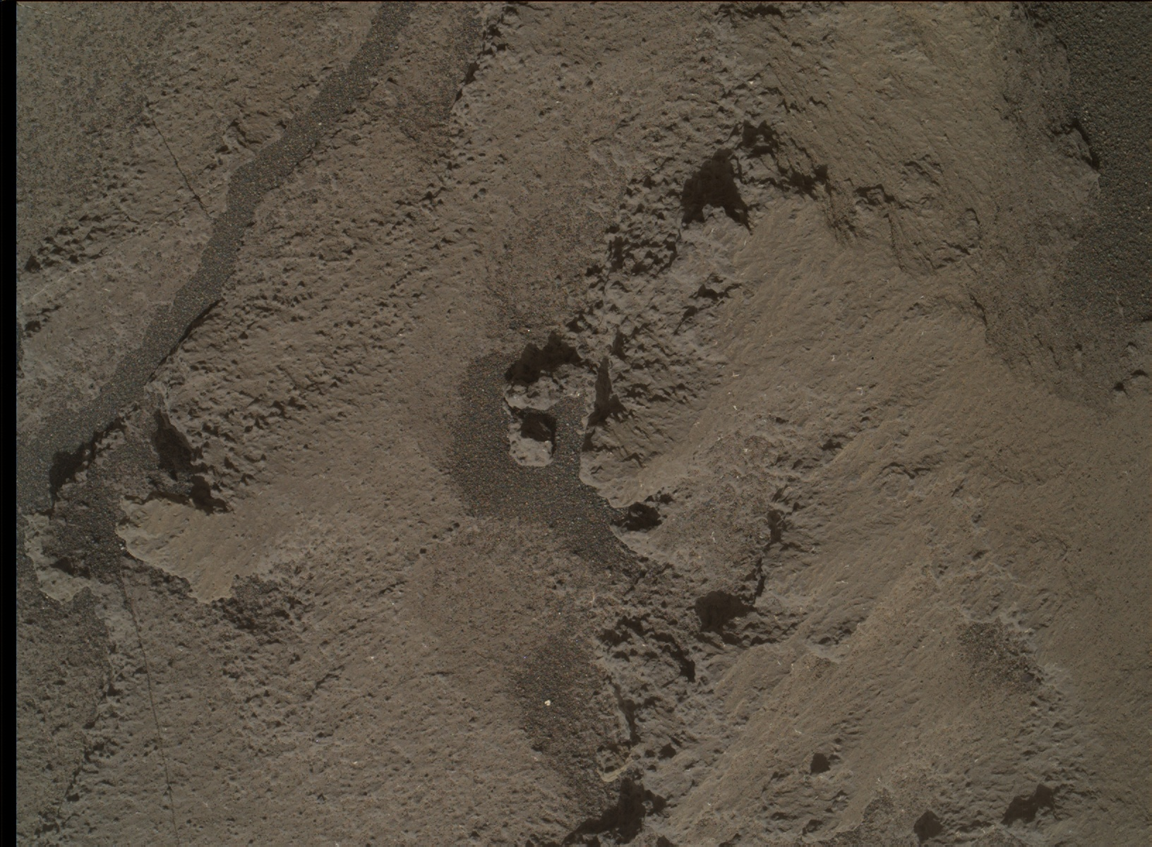Nasa's Mars rover Curiosity acquired this image using its Mars Hand Lens Imager (MAHLI) on Sol 1245