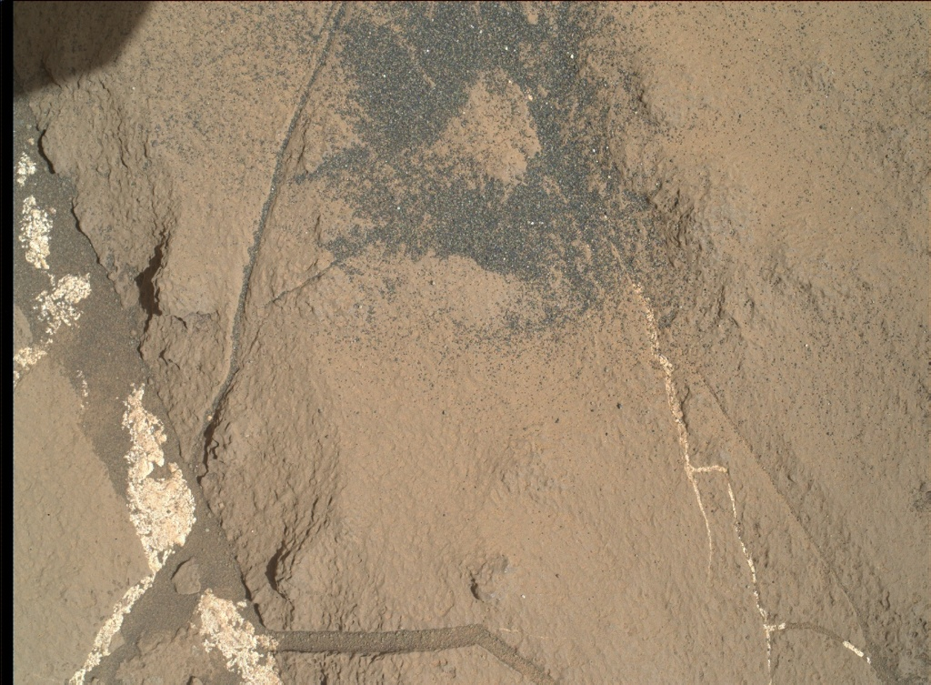 NASA's Mars rover Curiosity acquired this image using its Mars Hand Lens Imager (MAHLI) on Sol 1251