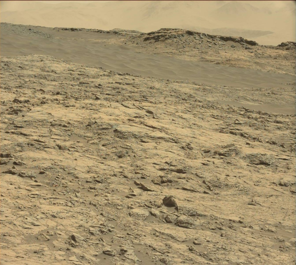 NASA's Mars rover Curiosity acquired this image using its Mast Camera (Mastcam) on Sol 1255