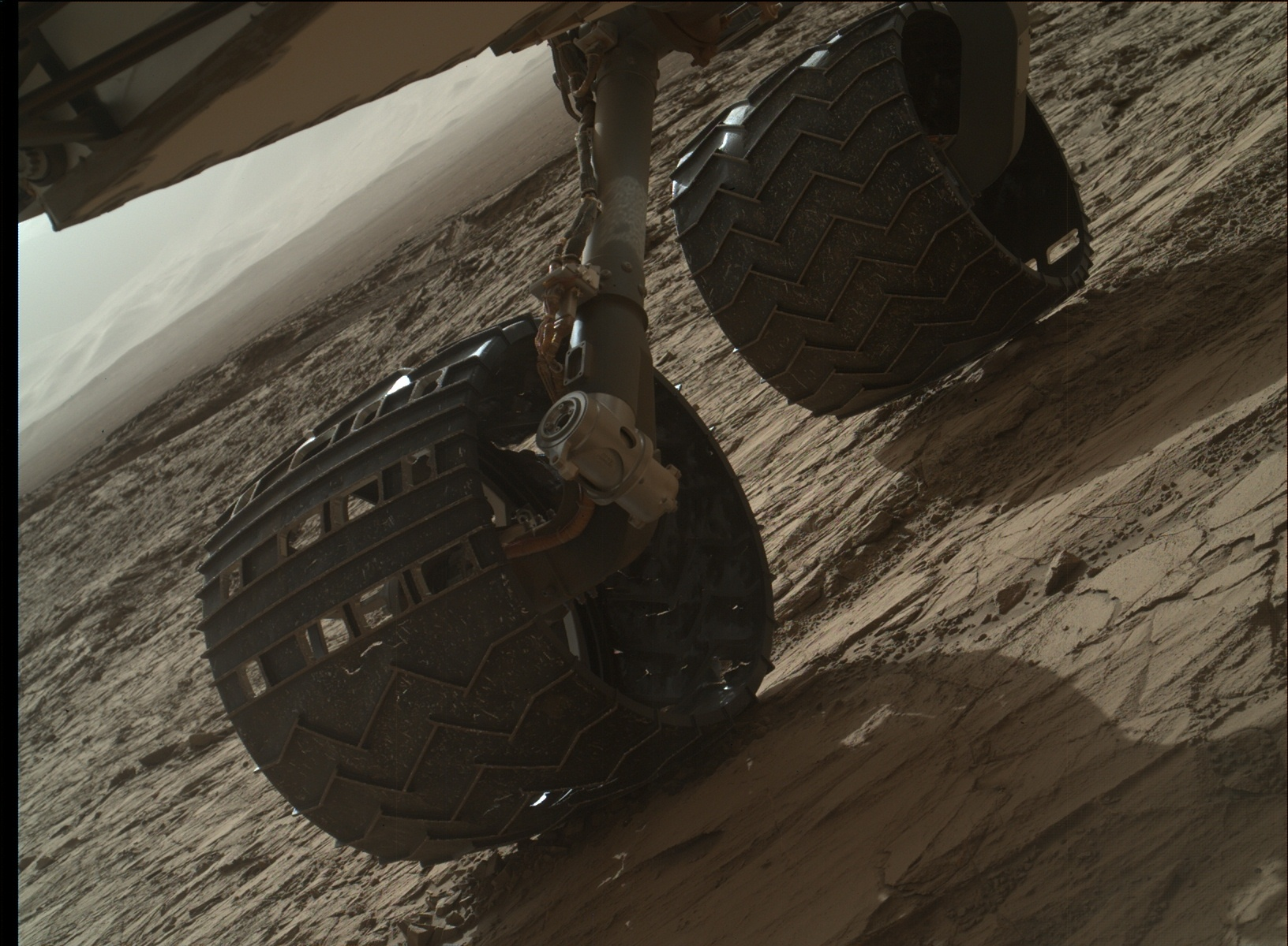 Nasa's Mars rover Curiosity acquired this image using its Mars Hand Lens Imager (MAHLI) on Sol 1260