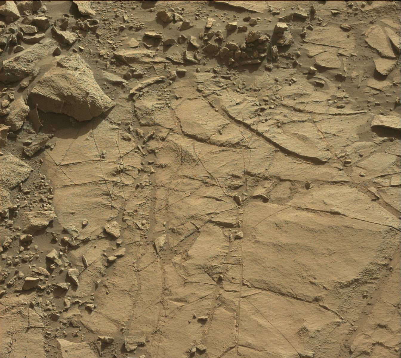 Nasa's Mars rover Curiosity acquired this image using its Mast Camera (Mastcam) on Sol 1269
