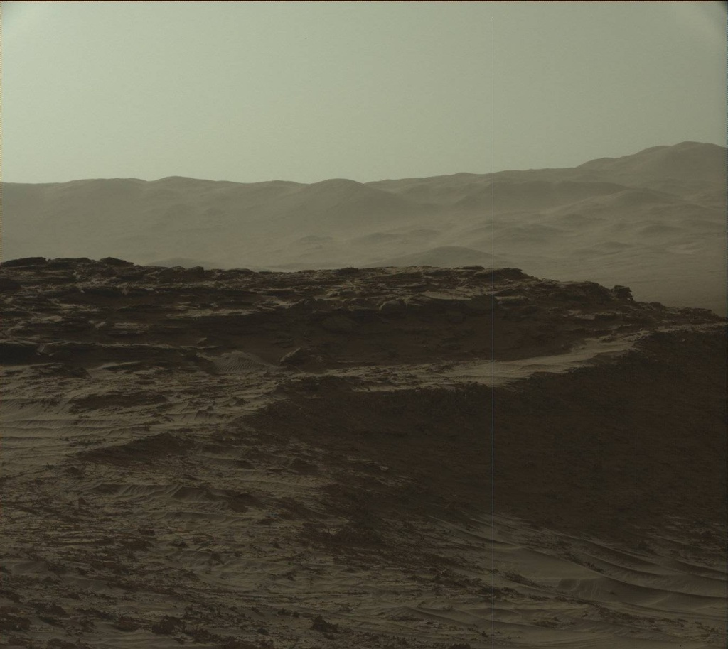 NASA's Mars rover Curiosity acquired this image using its Mast Camera (Mastcam) on Sol 1270