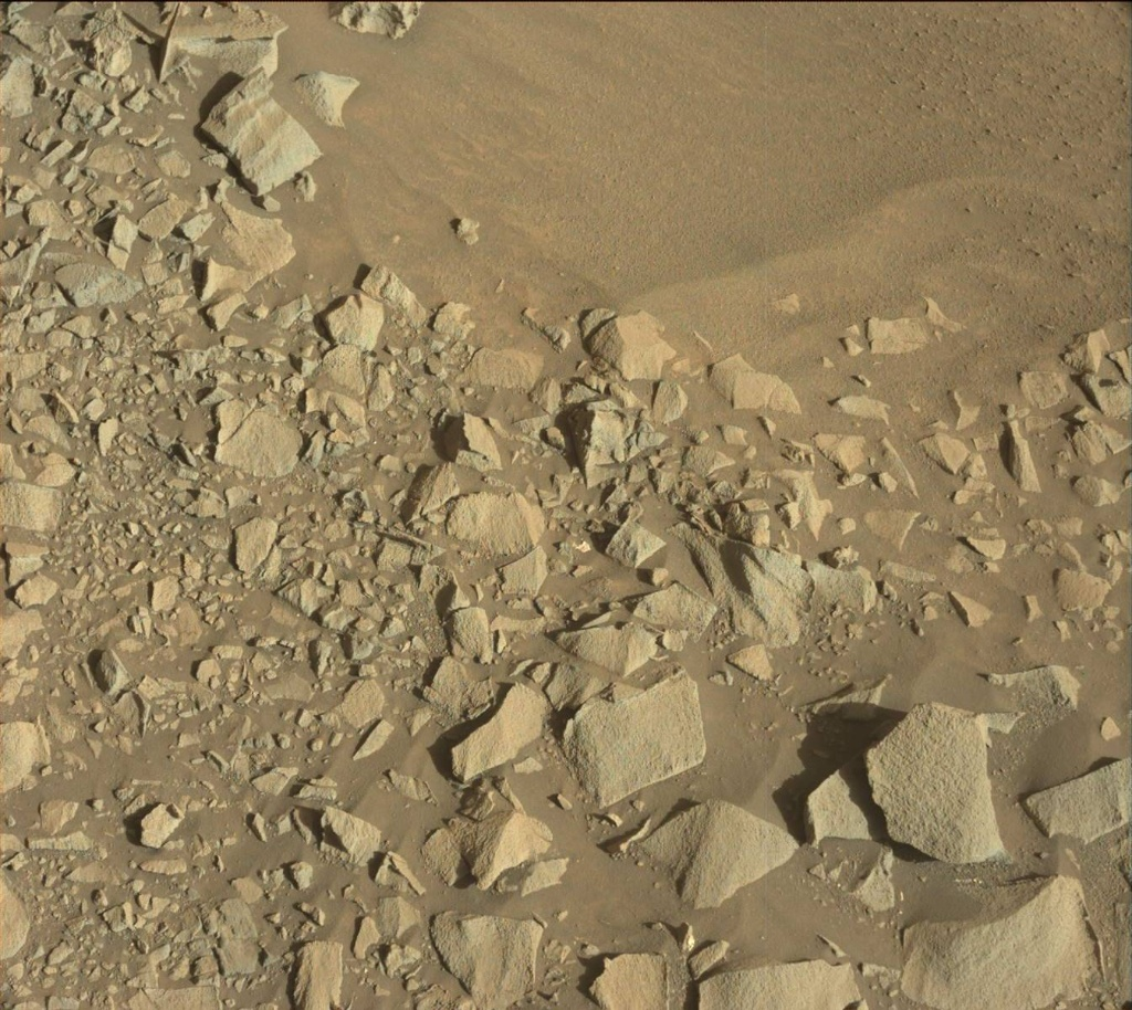 NASA's Mars rover Curiosity acquired this image using its Mast Camera (Mastcam) on Sol 1271