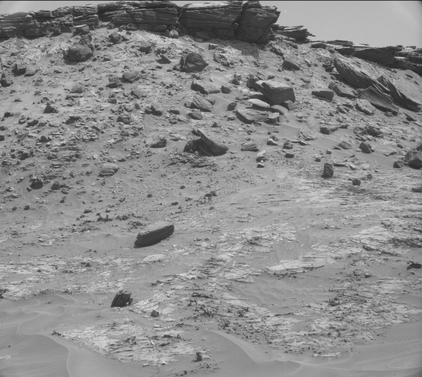 Nasa's Mars rover Curiosity acquired this image using its Mast Camera (Mastcam) on Sol 1273