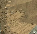 NASA's Mars rover Curiosity acquired this image using its Mast Camera (Mastcam) on Sol 1274