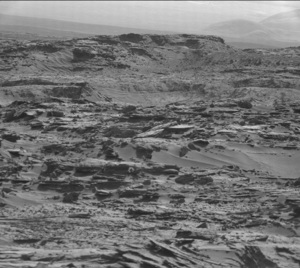 NASA's Mars rover Curiosity acquired this image using its Mast Camera (Mastcam) on Sol 1284