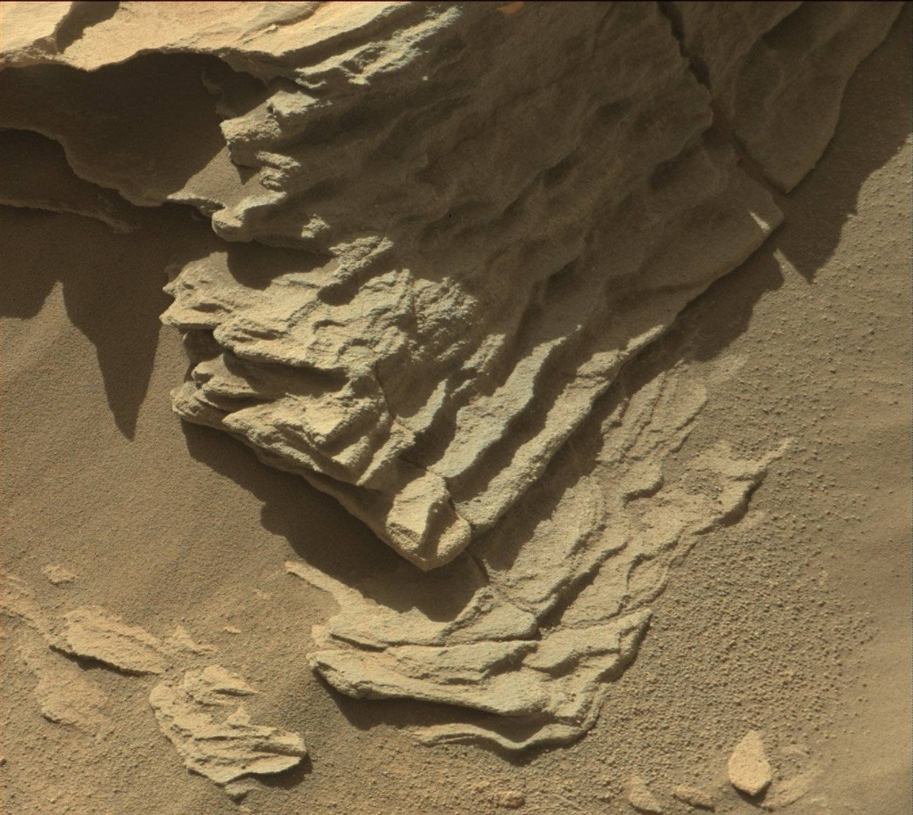 NASA's Mars rover Curiosity acquired this image using its Mast Camera (Mastcam) on Sol 1286