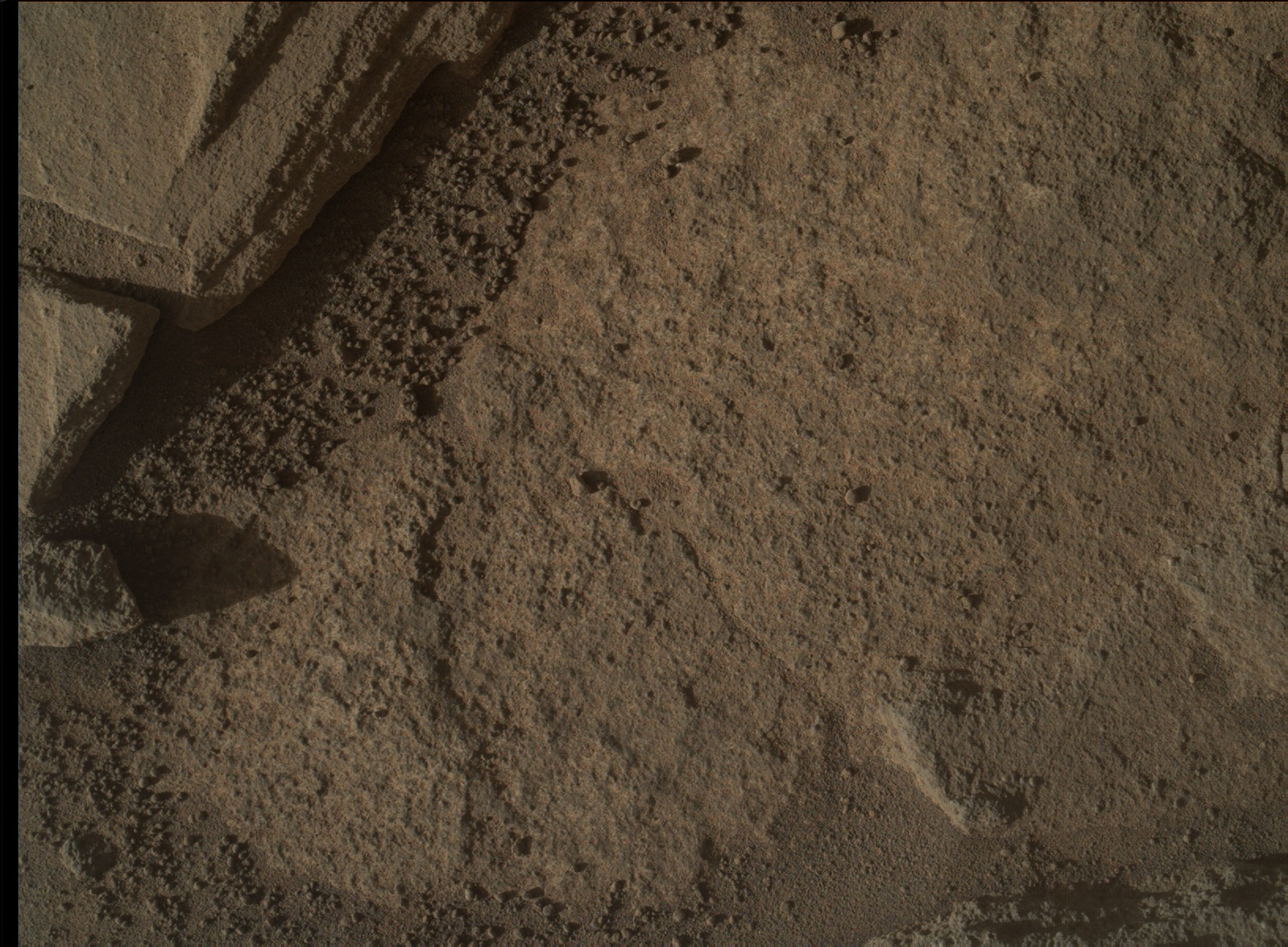 Nasa's Mars rover Curiosity acquired this image using its Mars Hand Lens Imager (MAHLI) on Sol 1287