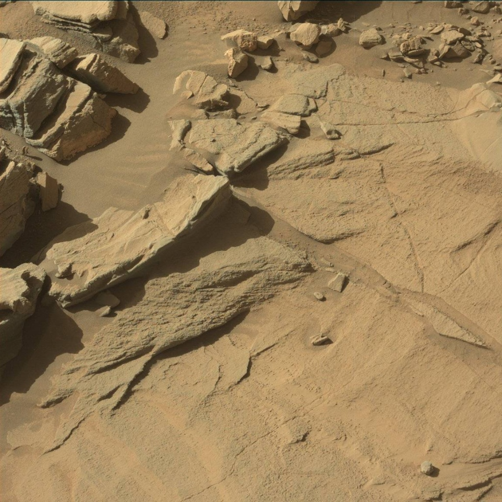 NASA's Mars rover Curiosity acquired this image using its Mast Camera (Mastcam) on Sol 1294
