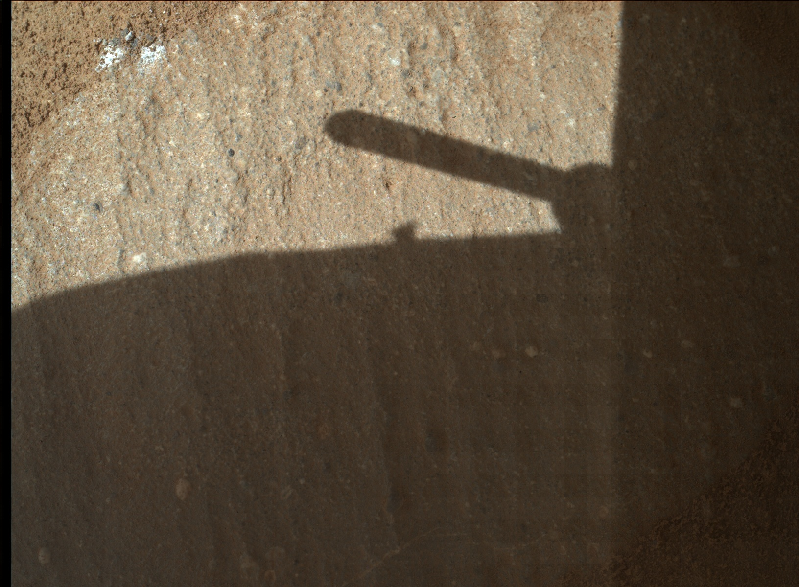 Nasa's Mars rover Curiosity acquired this image using its Mars Hand Lens Imager (MAHLI) on Sol 1319