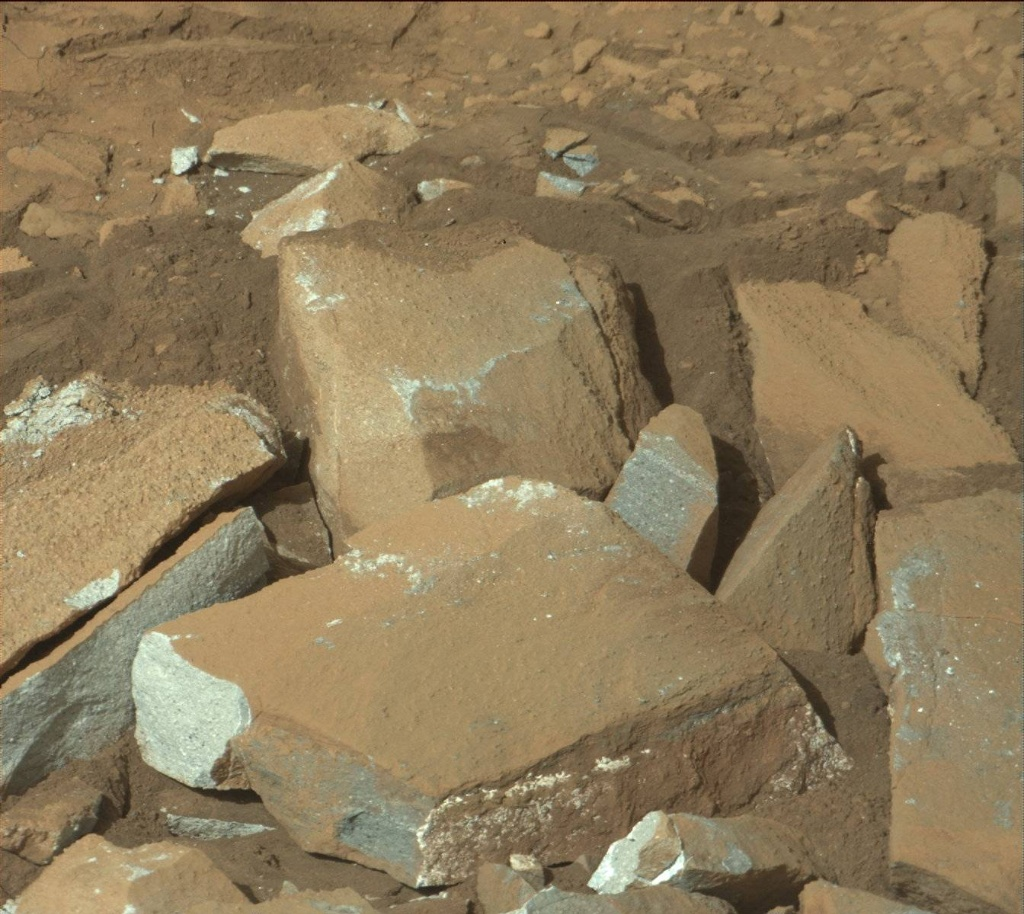 NASA's Mars rover Curiosity acquired this image using its Mast Camera (Mastcam) on Sol 1333