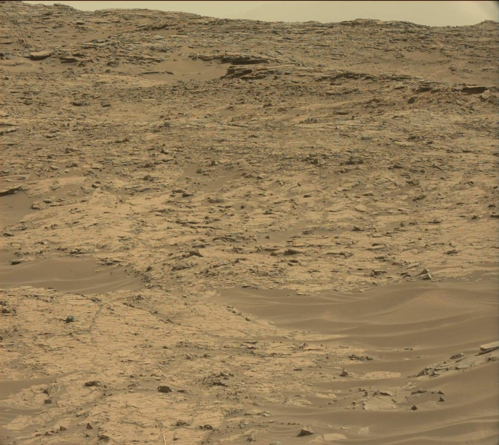NASA's Mars rover Curiosity acquired this image using its Mast Camera (Mastcam) on Sol 1349