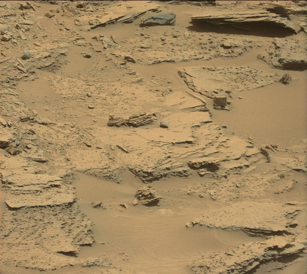 NASA's Mars rover Curiosity acquired this image using its Mast Camera (Mastcam) on Sol 1352