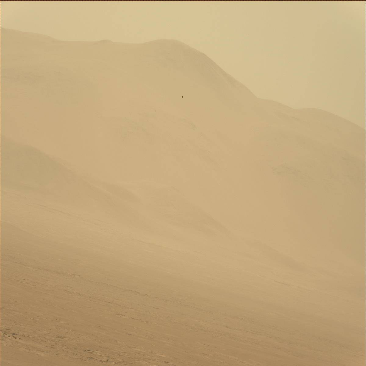 Nasa's Mars rover Curiosity acquired this image using its Mast Camera (Mastcam) on Sol 1366