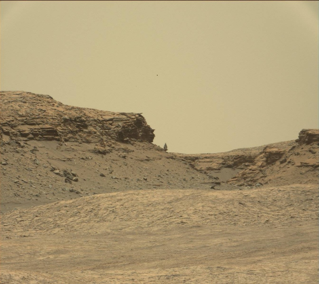 NASA's Mars rover Curiosity acquired this image using its Mast Camera  (Mastcam) on Sol