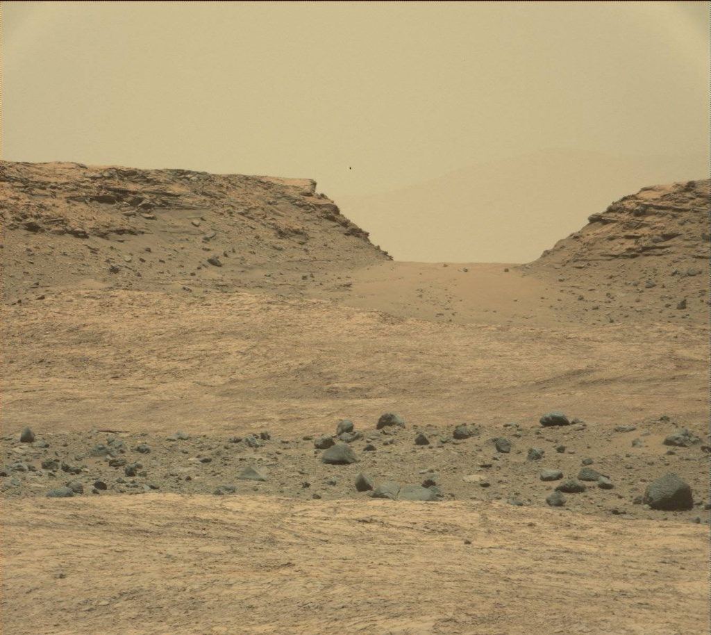 NASA's Mars rover Curiosity acquired this image using its Mast Camera (Mastcam) on Sol 1387