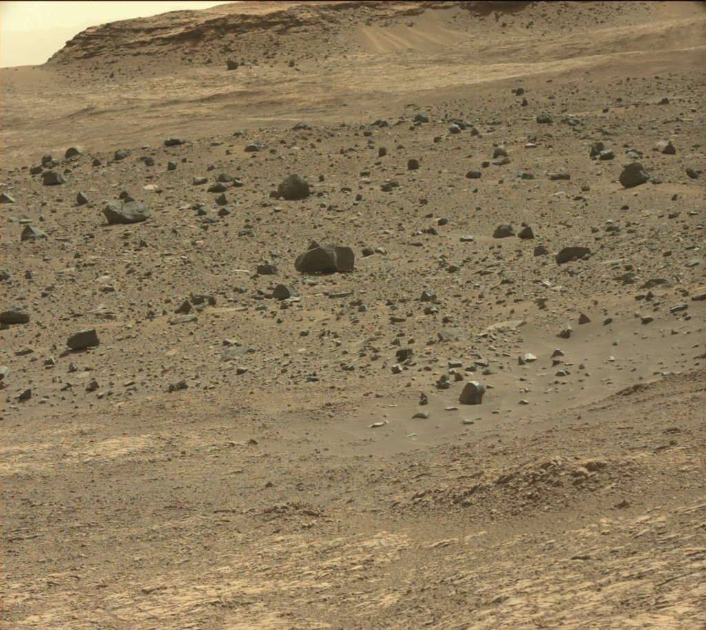 NASA's Mars rover Curiosity acquired this image using its Mast Camera (Mastcam) on Sol 1398