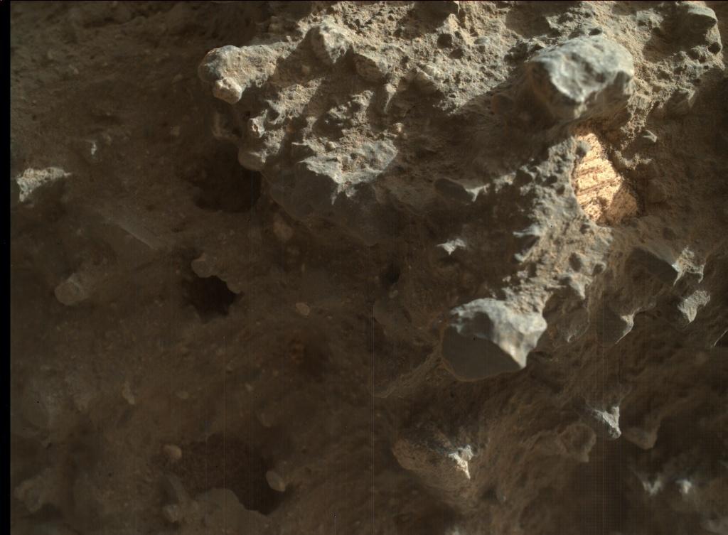 della NASA Mars Rover Curiosity ha acquisito questa immagine utilizzando il suo Marte mano Lens Imager (MAHLI) su Sol 1409