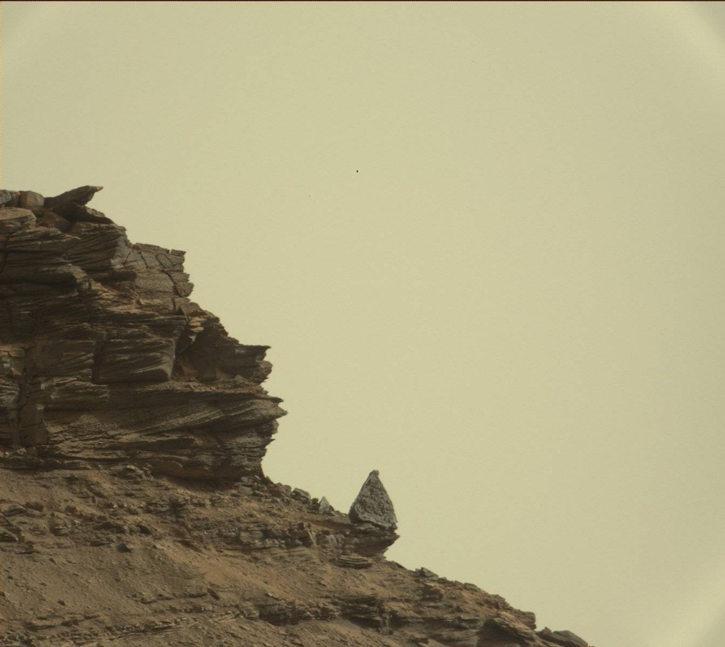 NASA's Mars rover Curiosity acquired this image using its Mast Camera (Mastcam) on Sol 1419