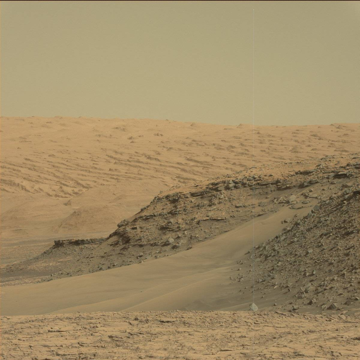 Sol 1421 Mastcam Murray Buttes