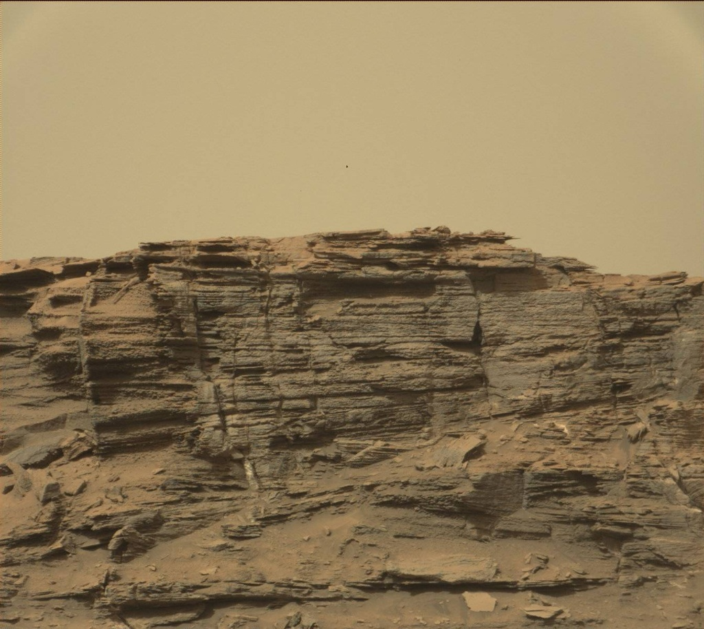 NASA's Mars rover Curiosity acquired this image using its Mast Camera (Mastcam) on Sol 1438