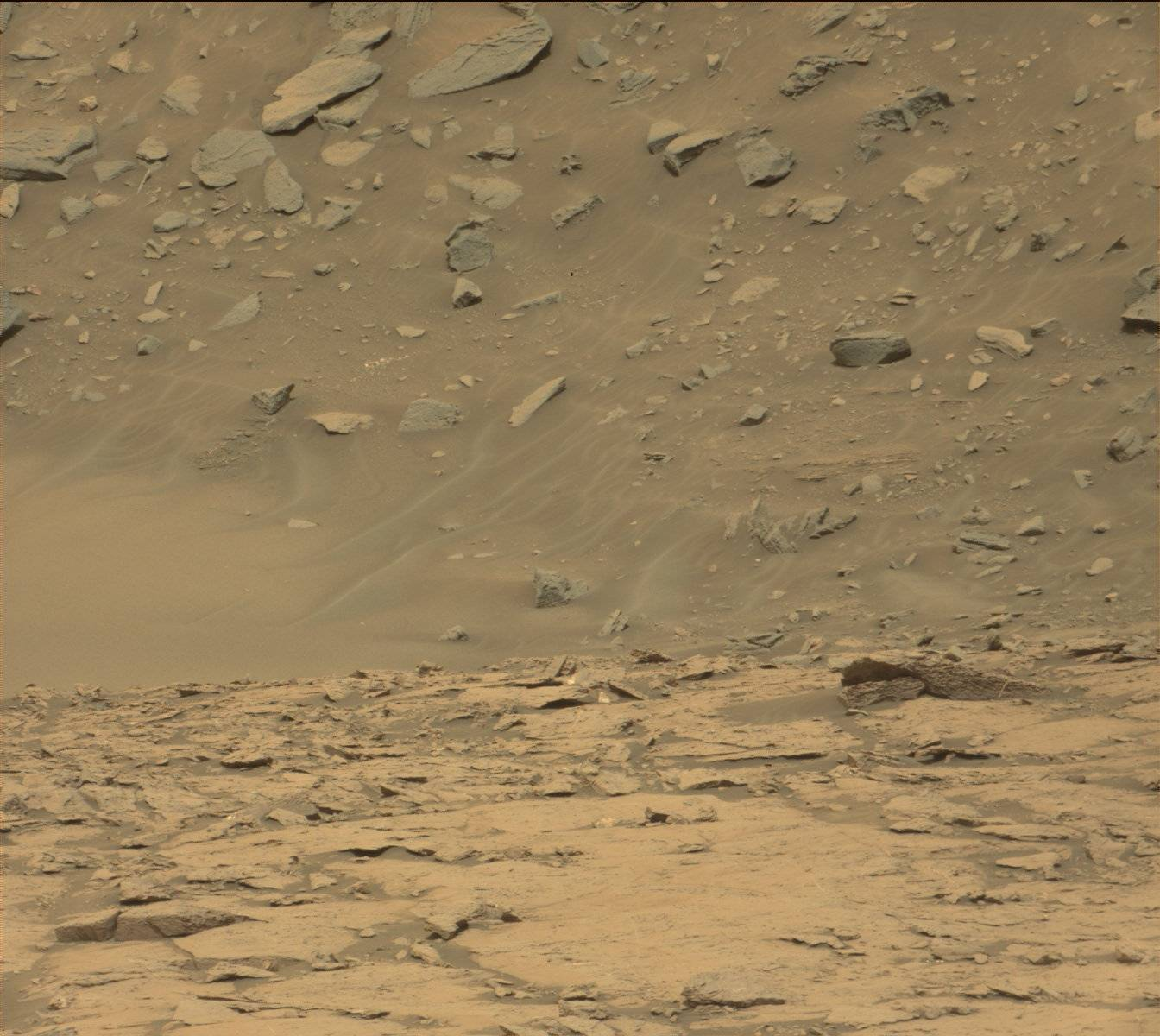 Mars rover curiosity image from MAST camera