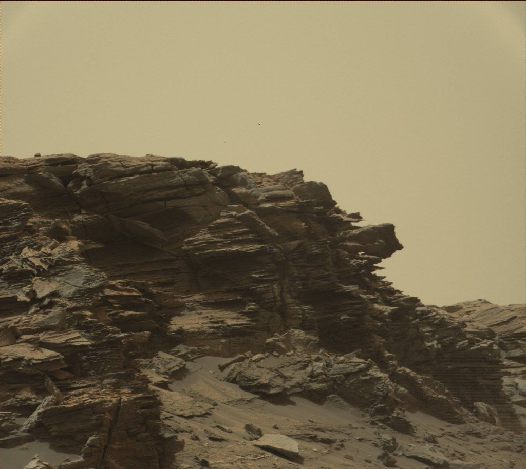 NASA's Mars rover Curiosity acquired this image using its Mast Camera (Mastcam) on Sol 1450