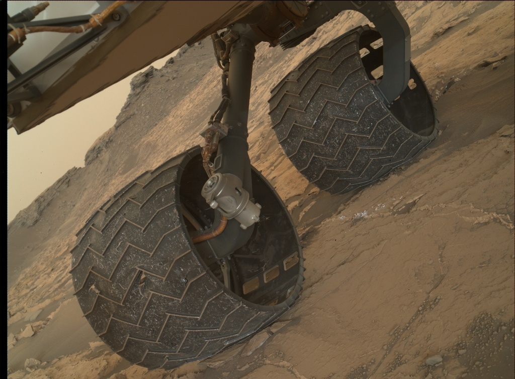 NASA's Mars rover Curiosity acquired this image using its Mars Hand Lens Imager (MAHLI) on Sol 1459