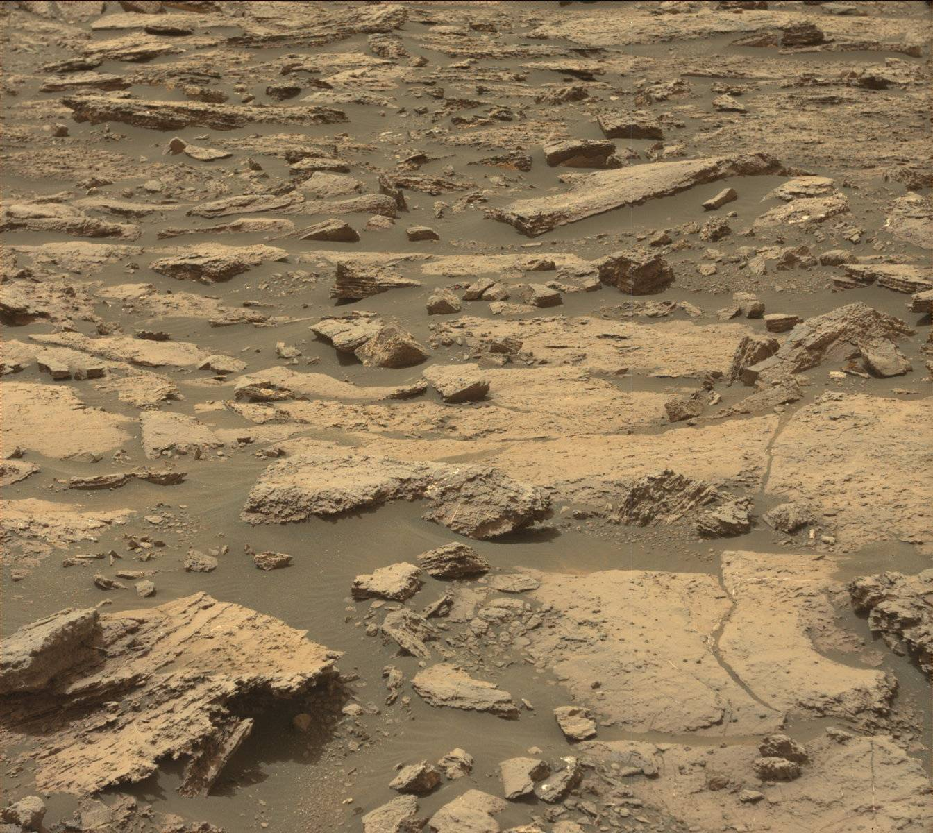 Nasa's Mars rover Curiosity acquired this image using its Mast Camera (Mastcam) on Sol 1477