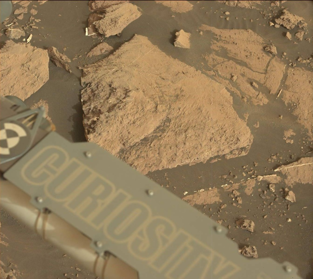 NASA's Mars rover Curiosity acquired this image using its Mast Camera (Mastcam) on Sol 1482