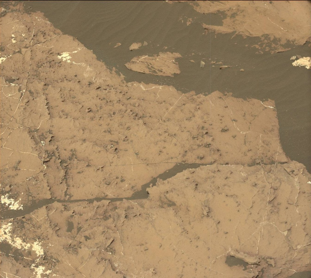 NASA's Mars rover Curiosity acquired this image using its Mast Camera (Mastcam) on Sol 1489
