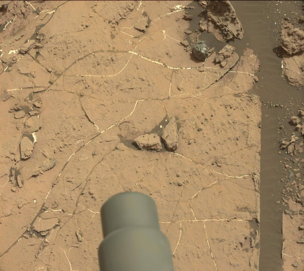 NASA's Mars rover Curiosity acquired this image using its Mast Camera (Mastcam) on Sol 1503