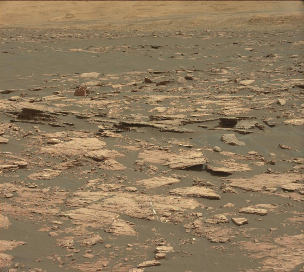 NASA's Mars rover Curiosity acquired this image using its Mast Camera (Mastcam) on Sol 1519