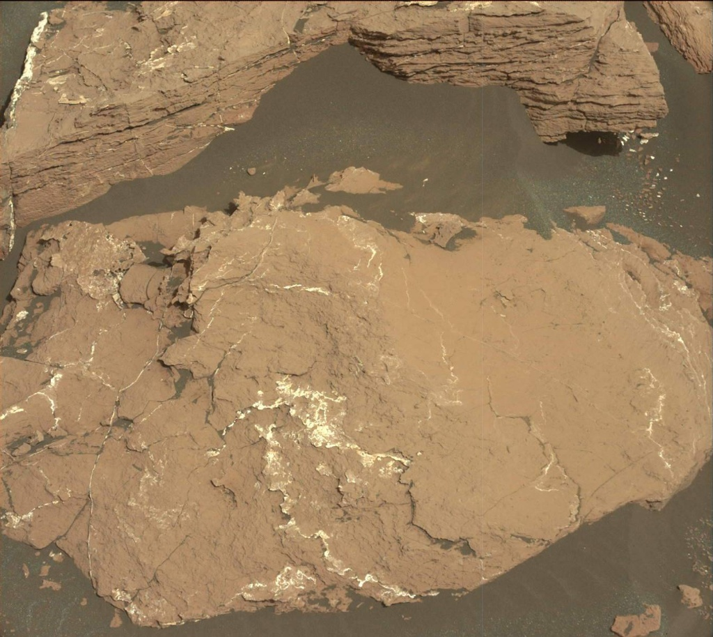 NASA's Mars rover Curiosity acquired this image using its Mast Camera (Mastcam) on Sol 1526