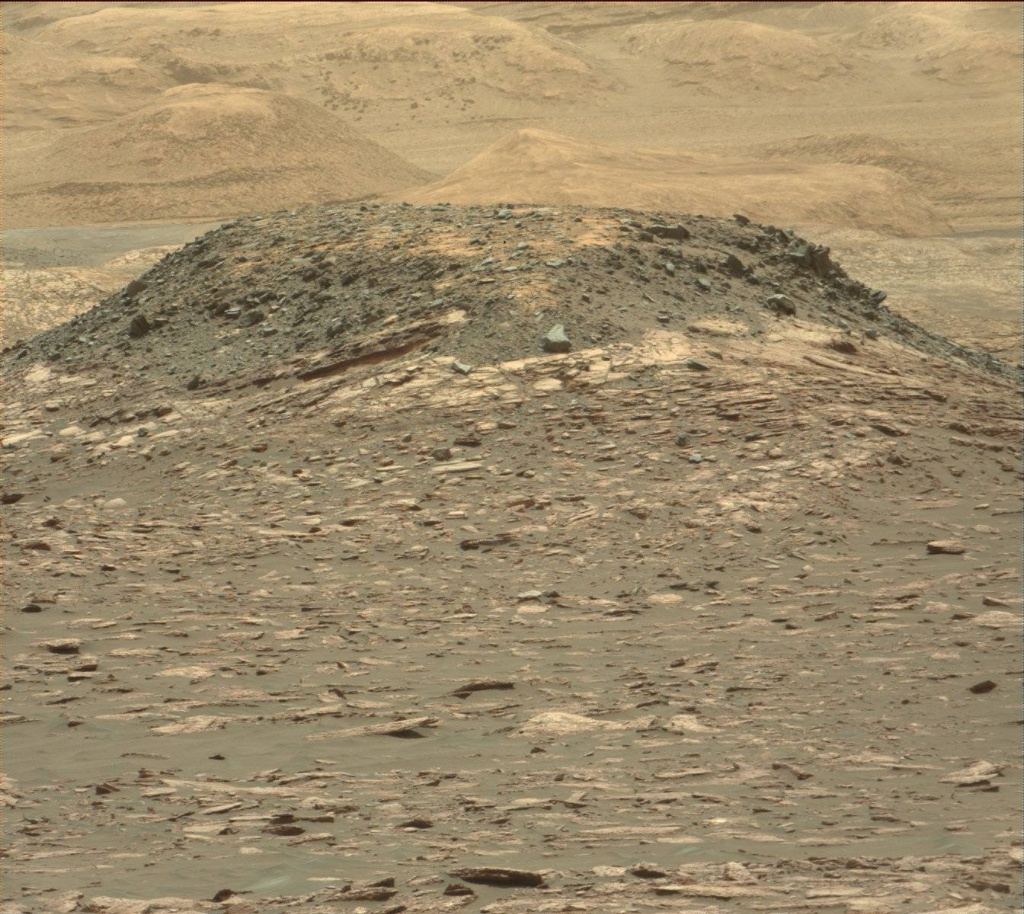 NASA's Mars rover Curiosity acquired this image using its Mast Camera (Mastcam) on Sol 1539