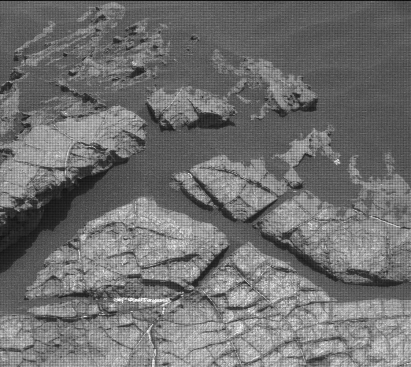 Nasa's Mars rover Curiosity acquired this image using its Mast Camera (Mastcam) on Sol 1555